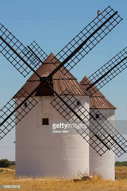 Windmills at Alcazar de San Juan - Spain
