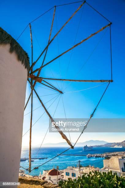 Windmills at Mykonos Town