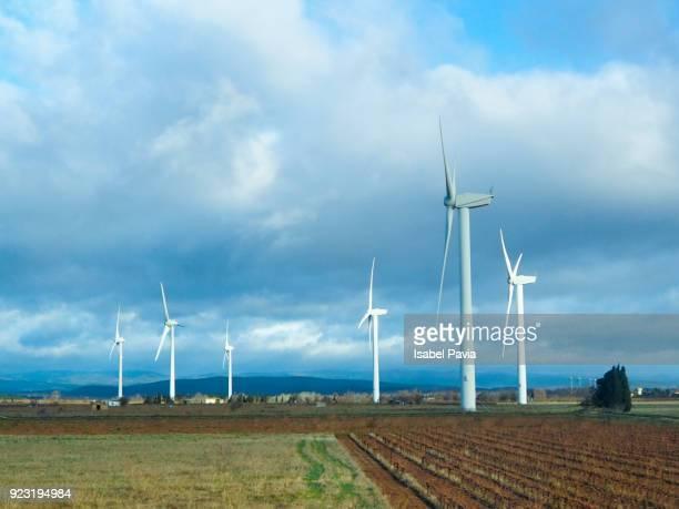 Windmills in France