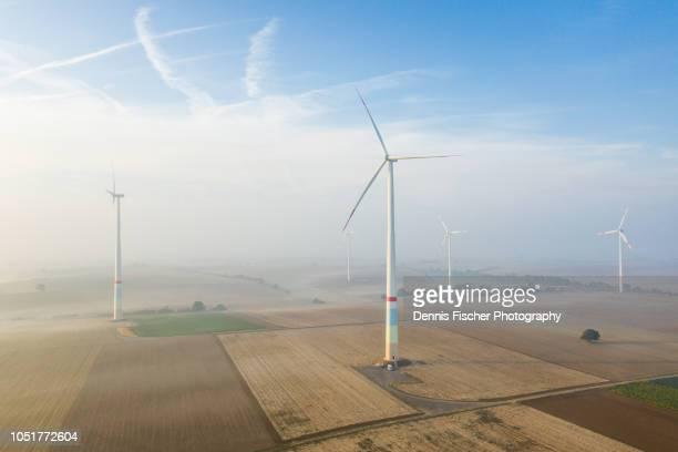 windmills in southern germany - ラインラント=プファルツ州 ストックフォトと画像