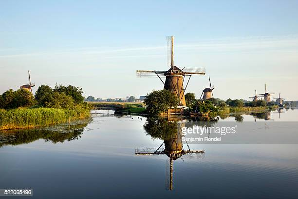 Windmills on Canals