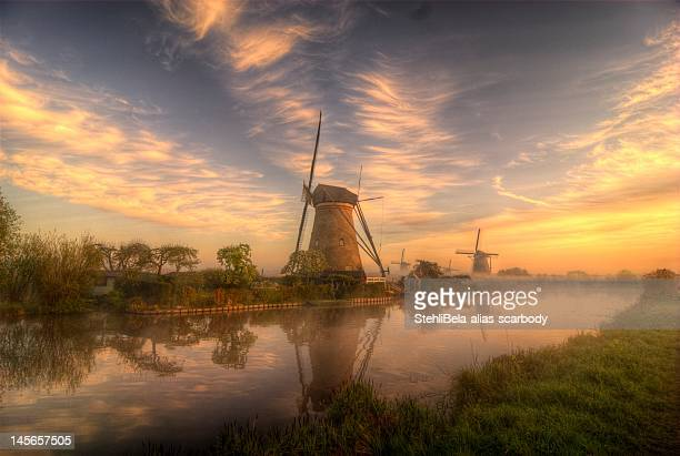windmills - traditional windmill stock photos and pictures