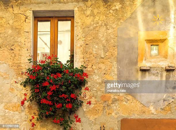 window and icona - italia stockfoto's en -beelden