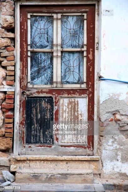 Window, Aspendos, Anatolia, Turkey