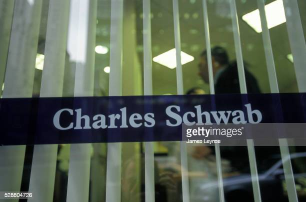 Window at Charles Schwab Offices in New York