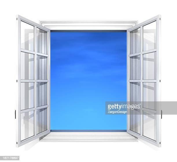 Window frame white