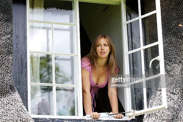 Window gazing...