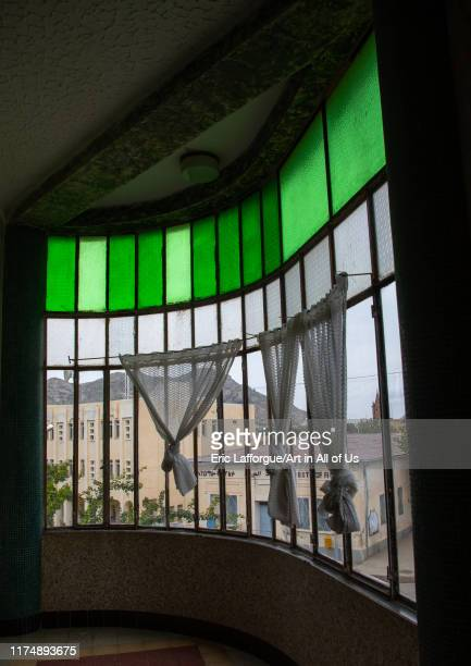 Window in keren hotel SemienKeihBahri Keren Eritrea on August 19 2019 in Keren Eritrea