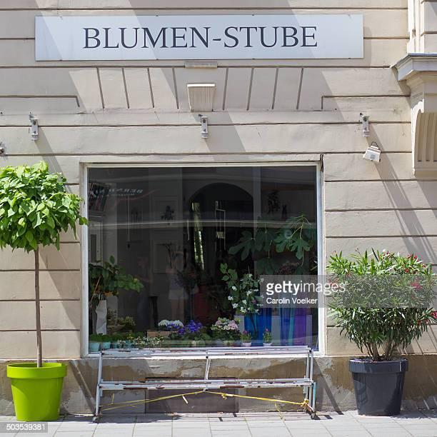 CONTENT] Window of a flower shop in Nordendstr Munich Germany