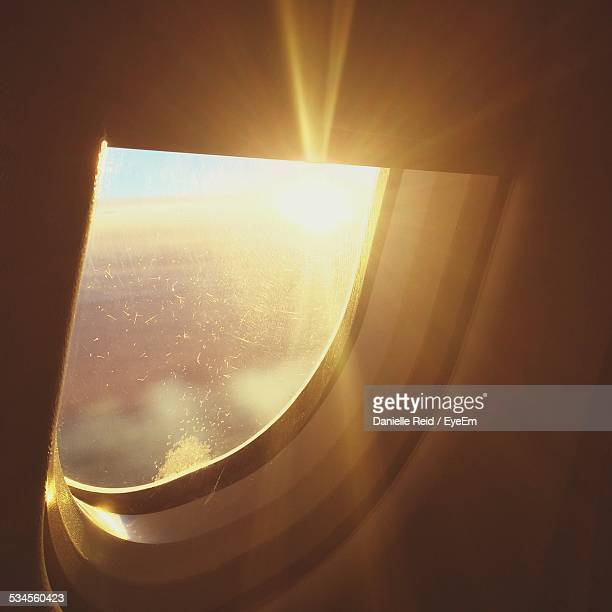 Window of An Airplane