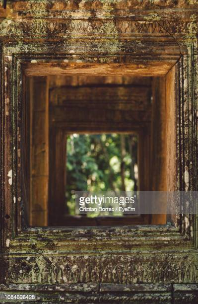 window of old building - bortes stock pictures, royalty-free photos & images