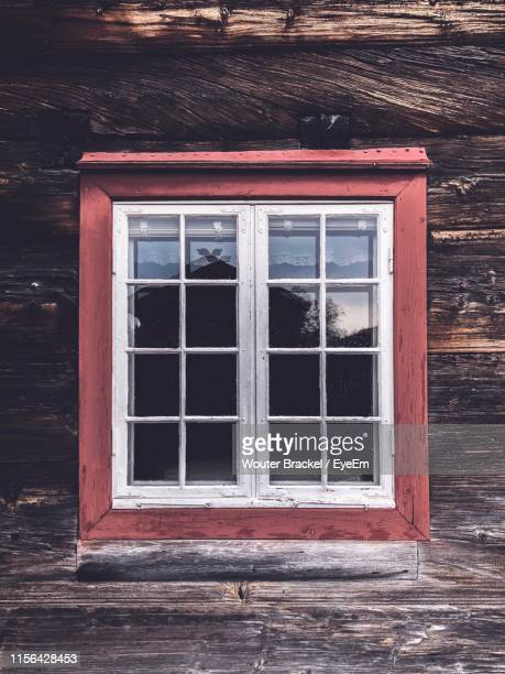 window of old building - window frame stock pictures, royalty-free photos & images