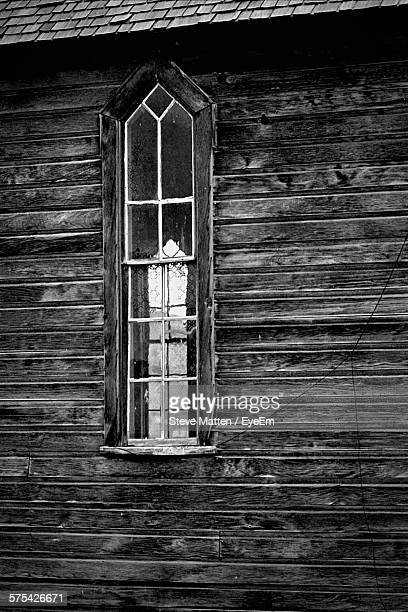 window of old house - steve matten stock pictures, royalty-free photos & images