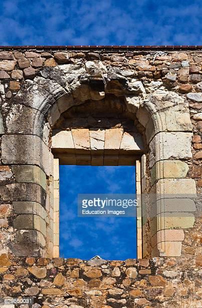 Window Of The 16Th Century Convent And Basilica Of Cuilapan The Former Monastery Of Santiago Apostol Cuilapan De Guerrero Mexico Near Oaxaca