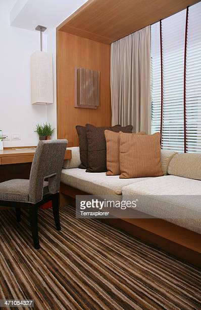 Window Seat In Hotel Room
