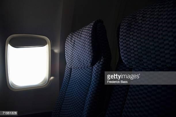 Window seat on airplane