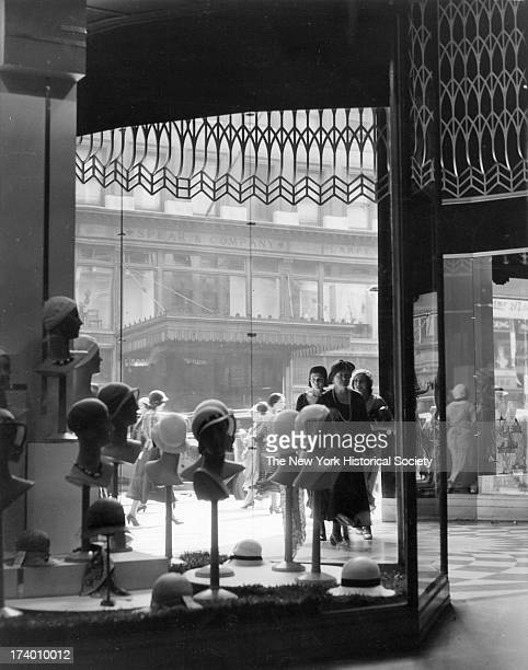 Window Shopping Bedoll's Store 34th Street and Sixth Avenue nd New York New York 1920s