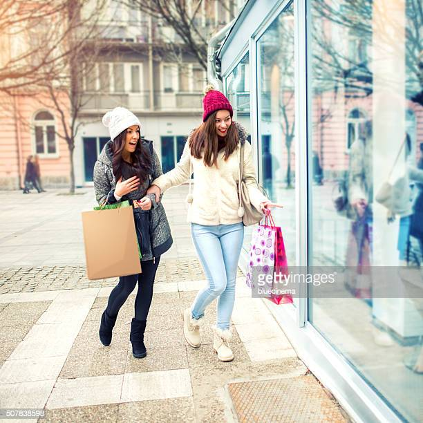 Window Shopping Women