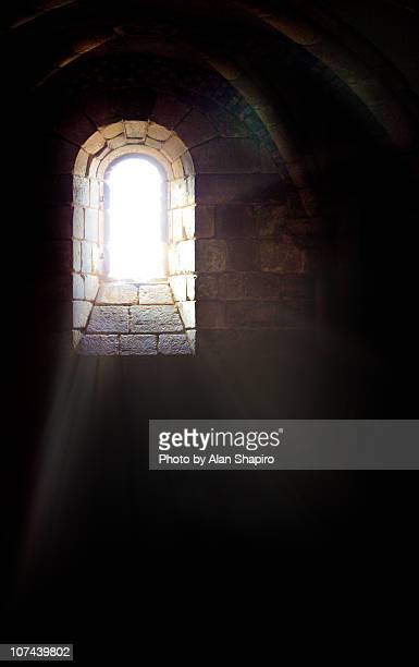 window to the soul or the dungeon. or both - dungeon stock photos and pictures