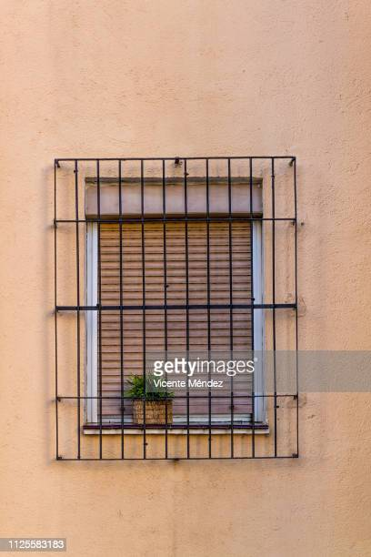 Window with grating