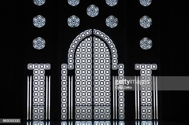 windows and doors - cultura marroquí fotografías e imágenes de stock