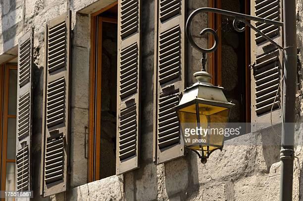 Fenêtres et lanterne