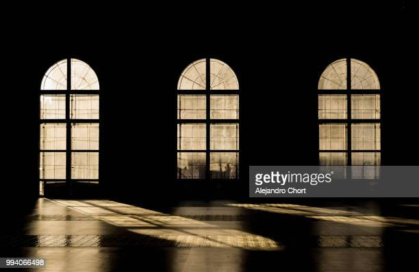 windows at the usina - gothic stock pictures, royalty-free photos & images