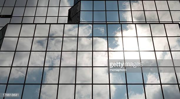 Windows of Glass Building