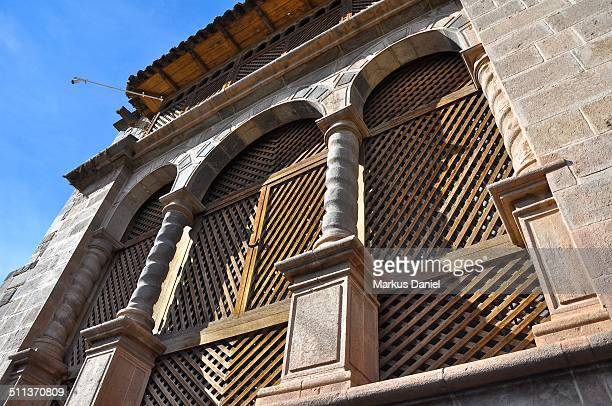 "windows of the coricancha convent, cusco, peru - ""markus daniel"" stock pictures, royalty-free photos & images"