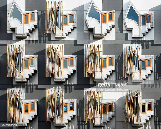 Windows, Scottish Parliament Building, Edinburgh