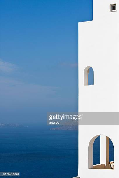 Fenêtres dans la zone bleue
