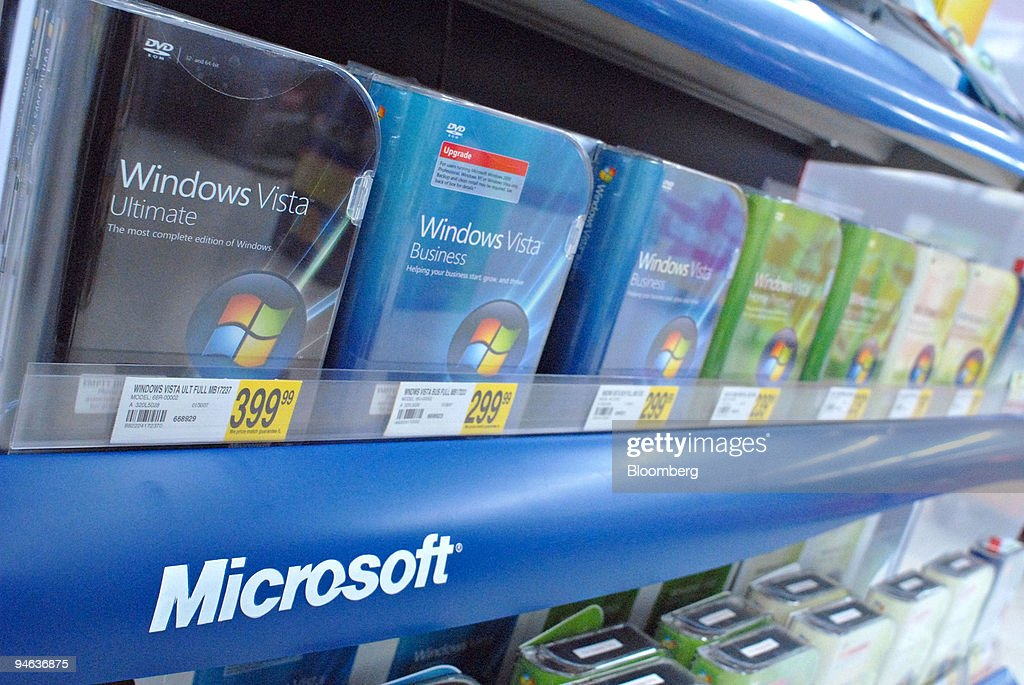 Windows vista software is displayed on a shelf at a staples pictures windows vista software is displayed on a shelf at a staples store in larchmont new reheart Image collections