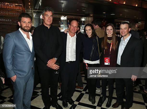 Windowseat Entertainment executives Joe McKelheer Bill Kiely producer James Reach Brooke Blumberg Morgan Michaels and Executive producer Ryan Dorf...