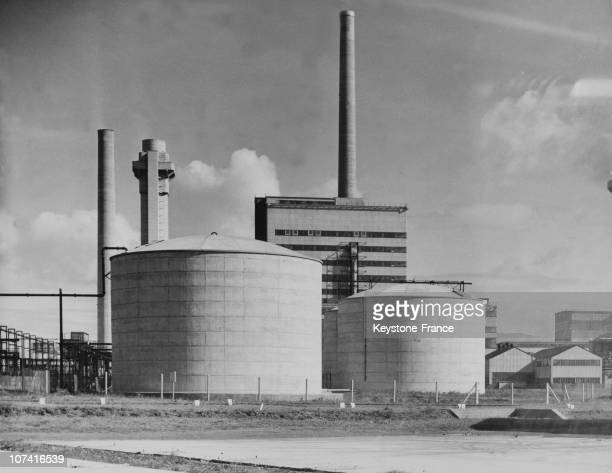 Windscale Nuclear Reactor In England On January 1965