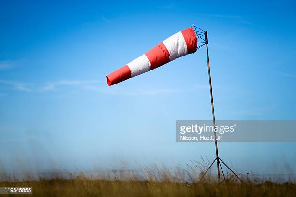 Windsock against sky