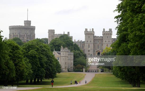 Windsor Castle is seen from the Long Walk on June 10, 2020 in Windsor, England. Prince Philip, The Duke of Edinburgh turns 99 years old today.