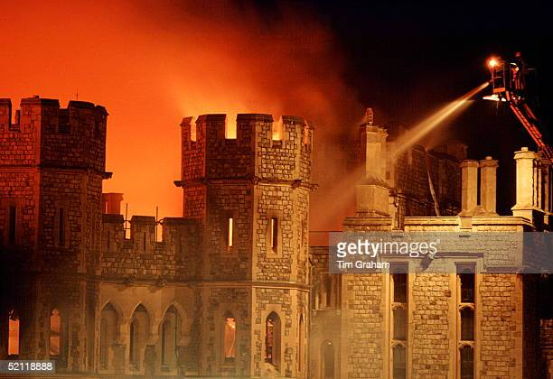 Windsor Castle On Fire