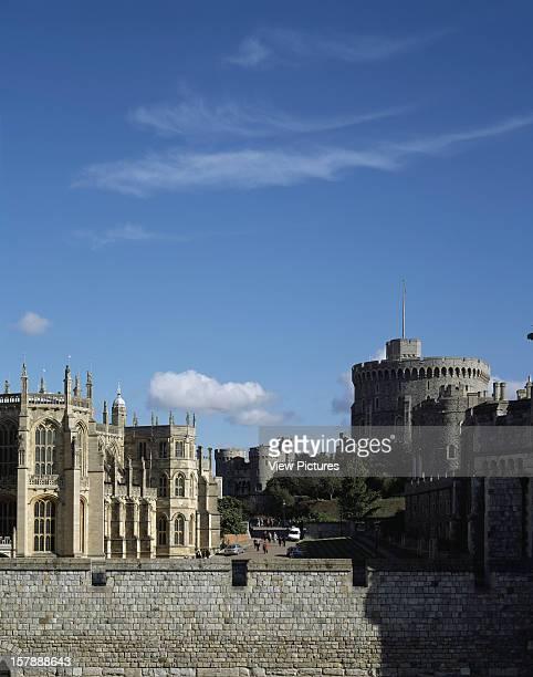 Windsor Castle, Windsor, United Kingdom, Architect Architect Unknown, Windsor Castle Round Tower, The Norman Gate And St.Georgeõs Chapel.