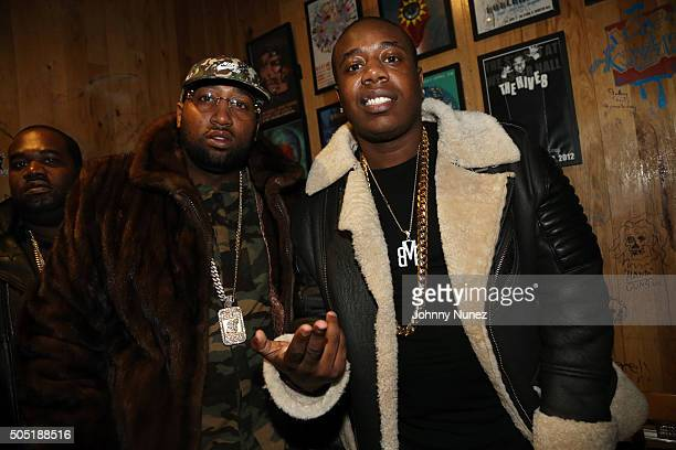 Windsor Slow Lubin and Trav attend Webster Hall on January 12 in New York City
