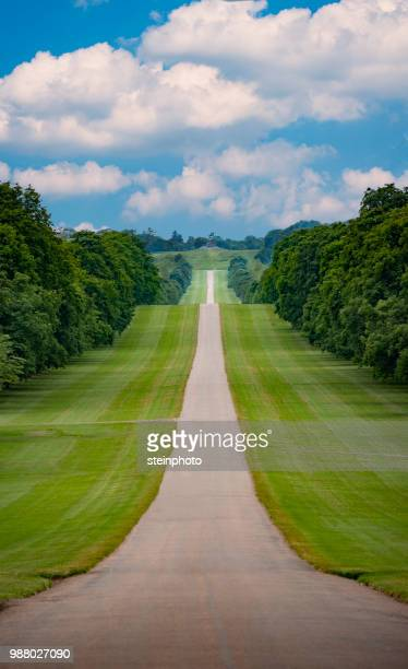 windsor's long wallk - windsor england stock pictures, royalty-free photos & images