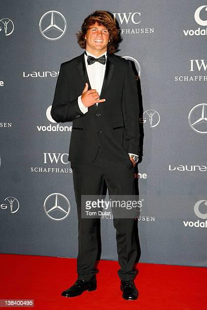Windsurfer Philip Koster attends the 2012 Laureus World Sports Awards at Central Hall Westminster on February 6 2012 in London England