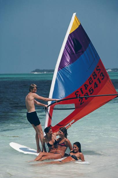 Bahamas Windsurfing Wall Art