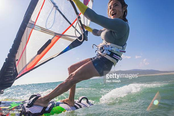 windsurfing - windsurfing stock pictures, royalty-free photos & images