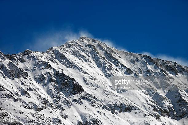 Windswept ridge on Copper mountain