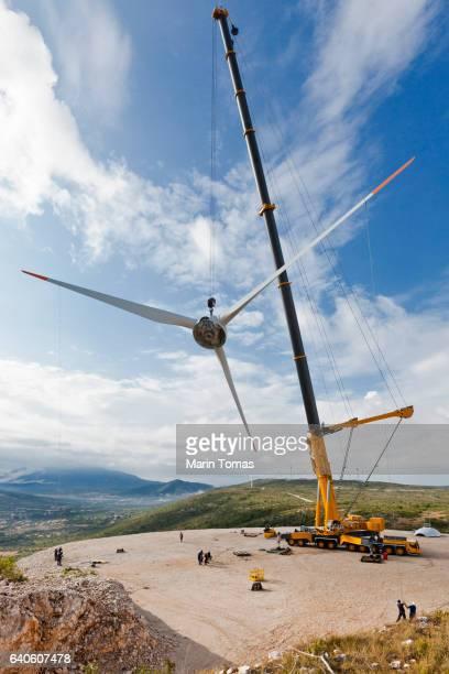 Windturbine construction