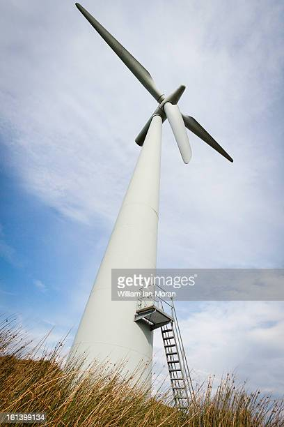CONTENT] A windturbine windmill in the lake district England Green power Energy environment environmental clean wind power