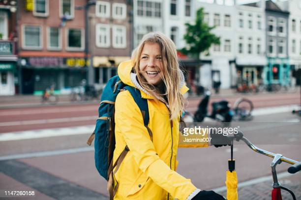 windy and cold day in utrecht - utrecht stock pictures, royalty-free photos & images