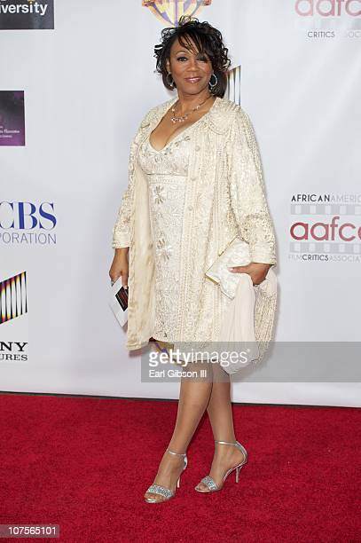 Windy Barnes appears on the red carpet for the 2nd Annual AAFCA Awards on December 13 2010 in Los Angeles California