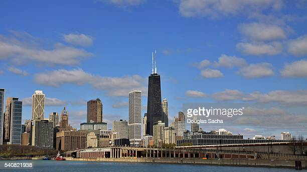 Windy City from Lake Michigan, Chicago, Illinois, USA