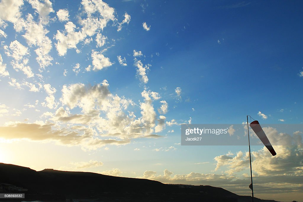 Windy day - Las Palmas, Gran Canaria, Spain : Stock Photo